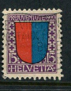 Switzerland #B17 Used