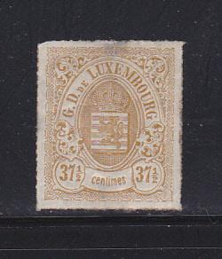 Luxembourg 24 MHR Coat of Arms SCV $1050.00