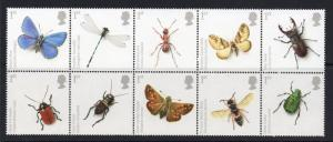 GB SG2831/40 2008 INSECTS MNH