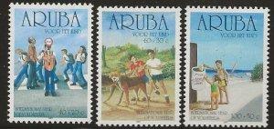 ARUBA  SC #  B64 - 6  MNH