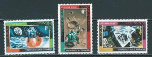 Trinidad & Tobago 166-8 1969 Moon Landing set NH