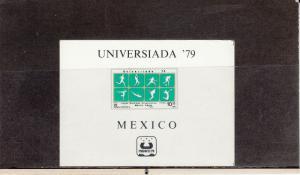MEXICO C614 SOUVENIR SHEET MNH 2014 SCOTT CATALOGUE VALUE $1.75