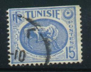 Tunisia Sct # 228 (perf 13½x14); Used