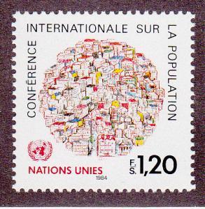 United Nations - Geneva # 121, Mint Never Hinged Set