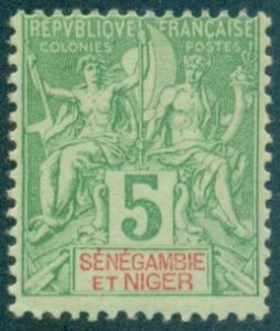 Senegambia & Niger #4  Mint  Scott $6.75
