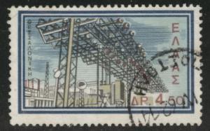 GREECE Scott 733 used 1962 stamp