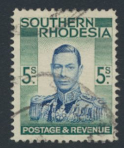 Southern Rhodesia  SG 52   SC# 54   Used   see scan