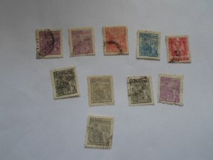 BRAZIL STAMPS. LOT OF 10. MIXED CON. #21