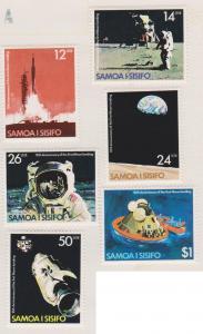 Samoa Sc#507-512 MH