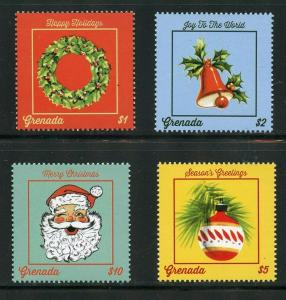 GRENADA  2019 CHRISTMAS SANTA CLAUS  SET MINT NH