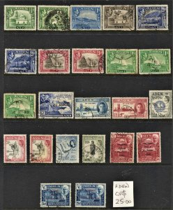 STAMP STATION PERTH Aden #23 Mint / Used Selection - Unchecked