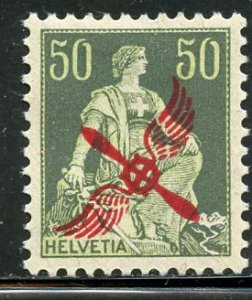 Switzerland # C2, Mint Hinge. CV $ 32.00