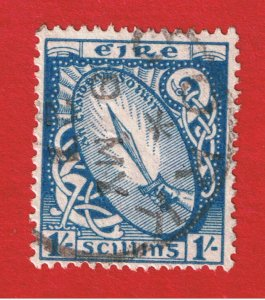 Ireland #76 VF used Sword of Light  Free S/H