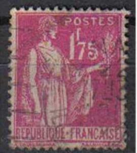 FRANCE, Peace, 1932, used 1f.75 mauve