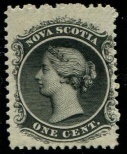 8 Nova Scotia 1c Queen Victoria, MNH