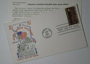 US Sc# C70 Alaska Purchase Centennial 1967 Sitka Alaska 8c Postage
