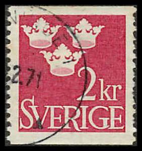 Sweden 659 Used VF