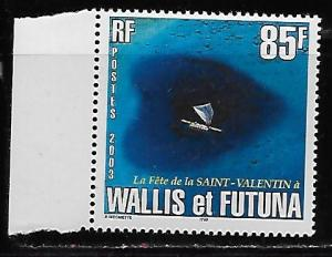 Wallis and Futuna Islands 564 St. Valentine's Day single MNH