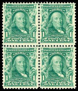 U.S. 1902-03 ISSUE 301  Mint (ID # 83832)