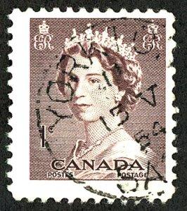 Canada #325 Used