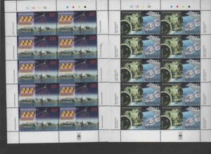 ARMENIA #668-669  2002  SPACE RESEARCH       MINT VF NH  O.G  SHEETS