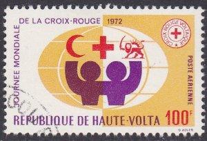 Upper Volta Sc #C105 Used
