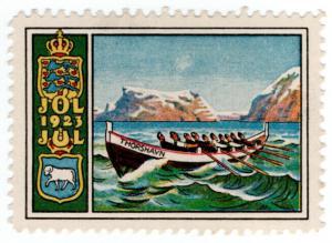 (I.B) Faroe Islands Cinderella : Christmas Seal (1923)