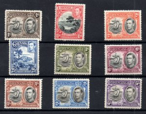 Grenada KGVI 1938-50 LHM collection to 5/- unchecked WS18505