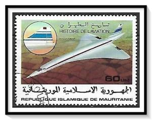 Mauritania #371 History Of Aviation CTO