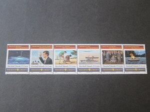 Marshall Island 1995 Sc 591 John F Kennedy set MNH