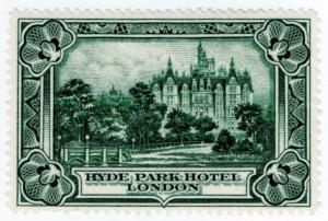 (I.B) Cinderella : Bradbury, Wilkinson & Co - Hyde Park Hotel
