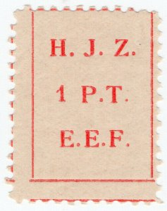 (I.B) Palestine Revenue : Hejaz Railway 1PT