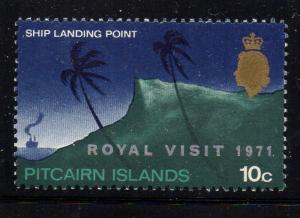 Pitcairn Islands Sc 118 1971 Royal Visit stamp mint NH
