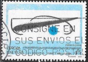 Spain 2705 Used - Europa - Contemorary Art - Fusees, by Joan Miro
