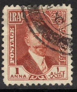 IRAQ SG81 1931 1a RED-BROWN USED