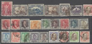 COLLECTION LOT # 4413 IRAQ 25 STAMPS 1923+