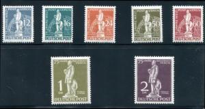 Germany- Berlin 9N35-9N41 MNH 1949 UPU