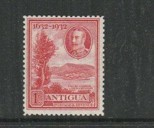 Antigua 1932 Tercentenary 1d MM SG 82