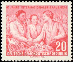 Germany DDR  #233-234, Complete Set(2), 1955, Never Hinged
