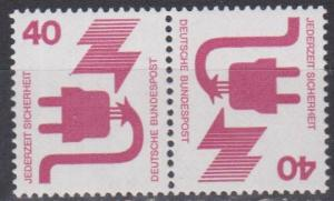 Germany #1079 MNH VF Tete-Beche Pair (ST704)