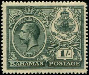 Bahamas SC# 69 SG# 110 George V 1shilling MLH