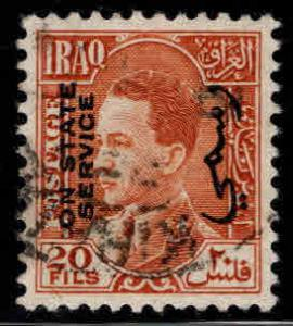 IRAQ Scott o80 Used Official stamp