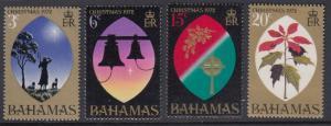 Bahamas 339-42 Christmas mnh