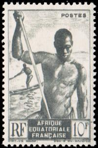 French Equatorial Africa Scott 181 Unused lightly hinged.