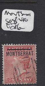 MONTSERRAT  (P2411B)   QV  SG 8   VFU