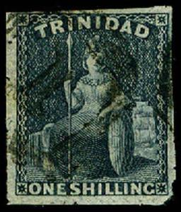 TRINIDAD-a-a-Pre 1900 (to 91) 21  Used (ID # 65317)