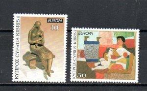 Cyprus 811-812 MNH