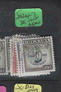 GRENADA  (P2901B)   QEII  SG 214-7, 219-220     VFU