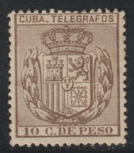 1894 Cuba Stamps E 78 Telegraphs 10c  Spain NEW