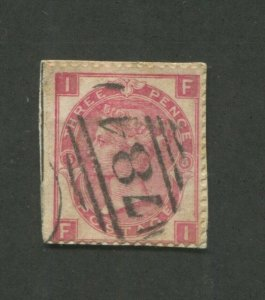 1865 Great Britain Postage Stamp #44 Used Postal Cancel - Queen Victoria